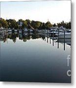 Panorama Harbor 02 Metal Print