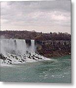 Panorama - Niagara Falls Metal Print