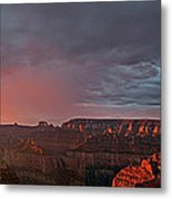 Panorama North Rim Grand Canyon National Park Arizona Metal Print