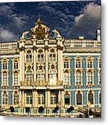 Panorama Of Catherine Palace Metal Print by David Smith
