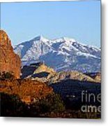 Panorama Point Capitol Reef National Park Utah Metal Print