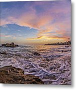 Panorama The Whole Way Round The Cove Metal Print