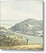 Panoramic After View, From The Red Book Metal Print