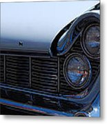panoramic blue Lincoln Metal Print