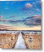 Panoramic Crooked Lake Metal Print