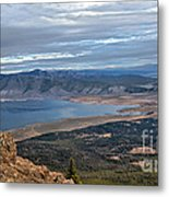 Panoramic Of Henry's Lake Metal Print