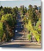 Panoramic Photo Of Katoomba Street Metal Print