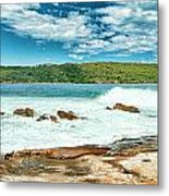 Panoramic Photo Of La Perouse Metal Print