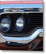 panoramic Plymouth GTX Metal Print
