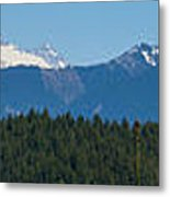 Panoramic Rainier Rt.25 Metal Print