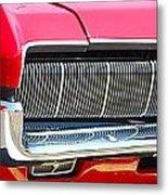 panoramic red Cougar Metal Print