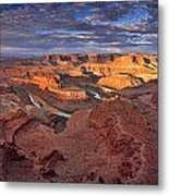 Panoramic Sunrise Over Dead Horse Point State Park Metal Print