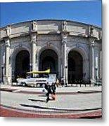 panoramic View of Union station in Washington DC Metal Print