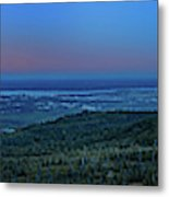 Panoramic View Overlooking Anchorage Metal Print