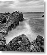 Ballycastle - Pans Rock To Rathlin Island Metal Print