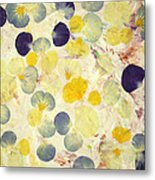 Pansy Petals Metal Print by James W Johnson
