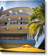 Congress Hotel Of South Beach Metal Print