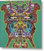 Papalotl Series Vlll Metal Print