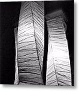 Paper Lampshades Metal Print