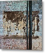 Papers And Inks Metal Print by Carol Leigh