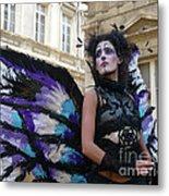 Papillion Femme Metal Print