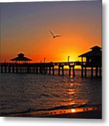 Paradise At The Pier Metal Print