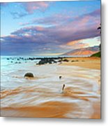 Paradise Dawn Metal Print by Mike  Dawson