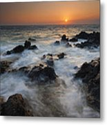 Paradise Flow Metal Print by Mike  Dawson