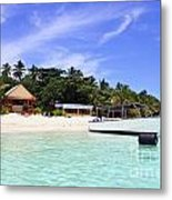 Paradise For Dream Vacation Metal Print by Lars Ruecker