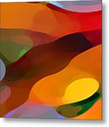 Paradise Found Metal Print by Amy Vangsgard