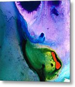Paradise Found - Colorful Abstract Painting Metal Print