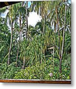 Paradise Patio Metal Print