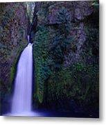 Paradise Pours Wanclella Falls Oregon Metal Print