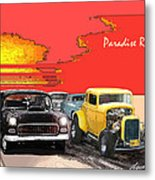 Paradise Road Metal Print by Barry Cleveland
