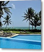 Paradise Vacation Metal Print