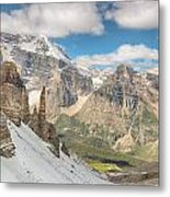 Paradise Valley - Banff National Park - Canada Metal Print
