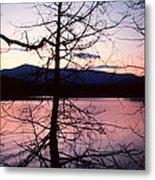 Paradox Lake Sunset II Metal Print