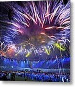 Paralympics 2012 Closing Ceremony Metal Print