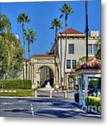 Paramount Movie Studio Hollywood Ca 4 Metal Print