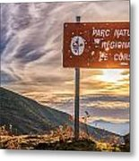 Parc Natural De Corse In The Balagne Region Of Corsica Metal Print