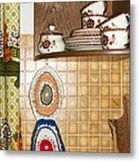 Parental Home 01 - Kitchen Detail Metal Print