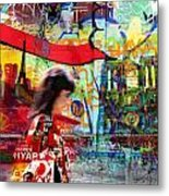 Paris 11 Metal Print