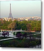 Paris Autumn Metal Print by A Morddel