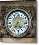 Paris Clocks 1 Metal Print