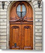 Paris Doors Metal Print
