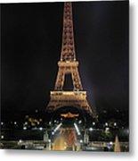 Paris: Eiffel Tower Metal Print