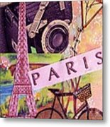 Paris  Metal Print by Eloise Schneider