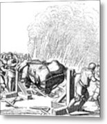 Paris Fete, 16th Century Metal Print