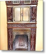 Paris Fireplace Metal Print