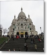 Paris France - Basilica Of The Sacred Heart - Sacre Coeur - 12125 Metal Print by DC Photographer
